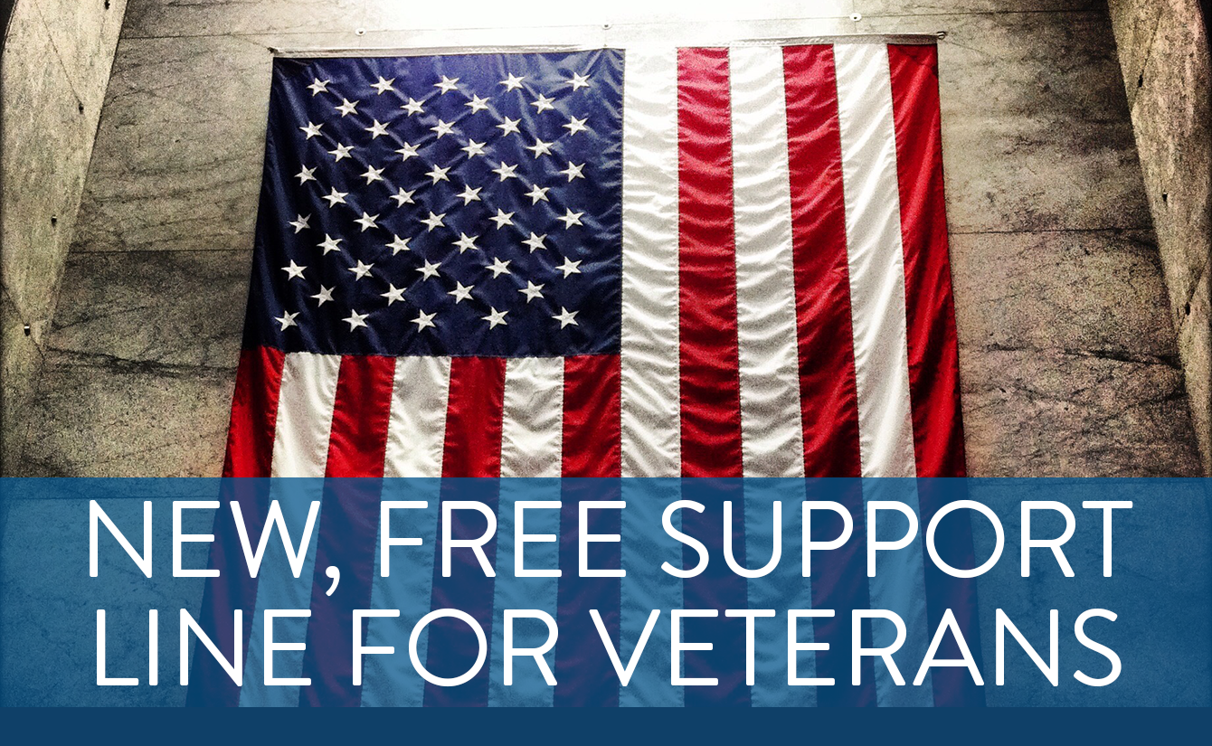 New, Free Veterans Support Line Available 24/7
