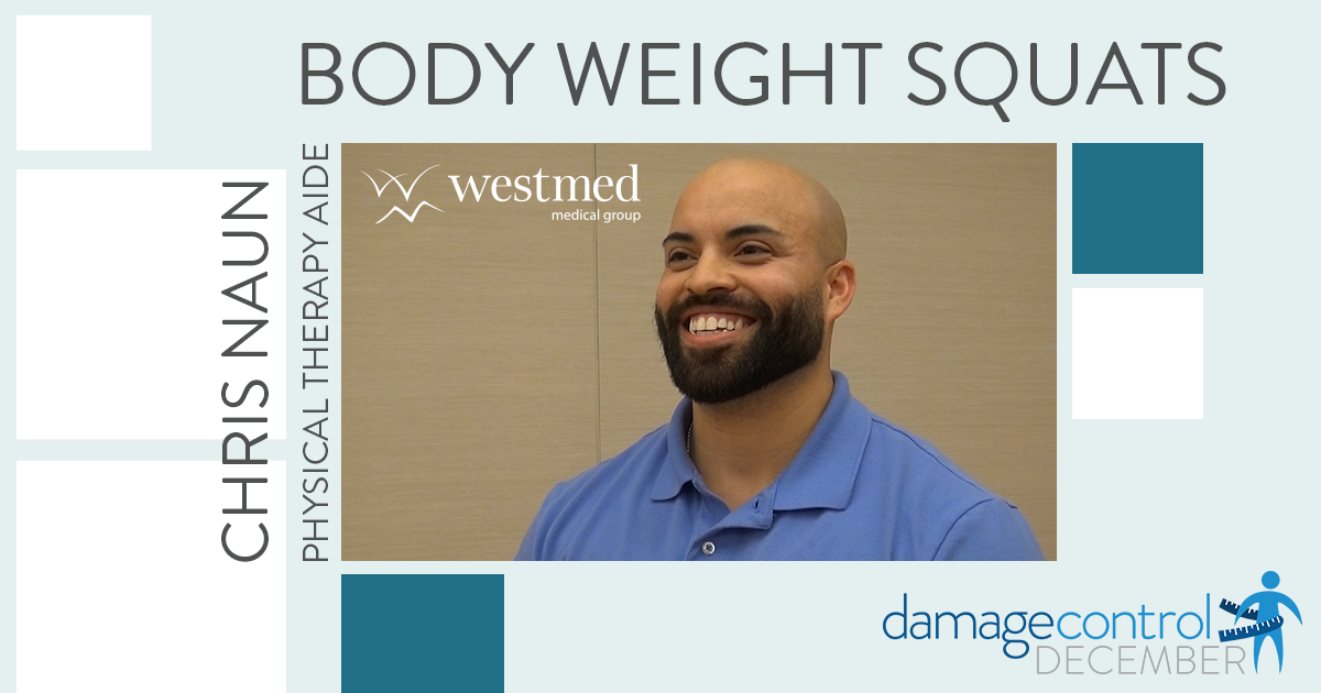 Damage Control December: Body Weight Squats