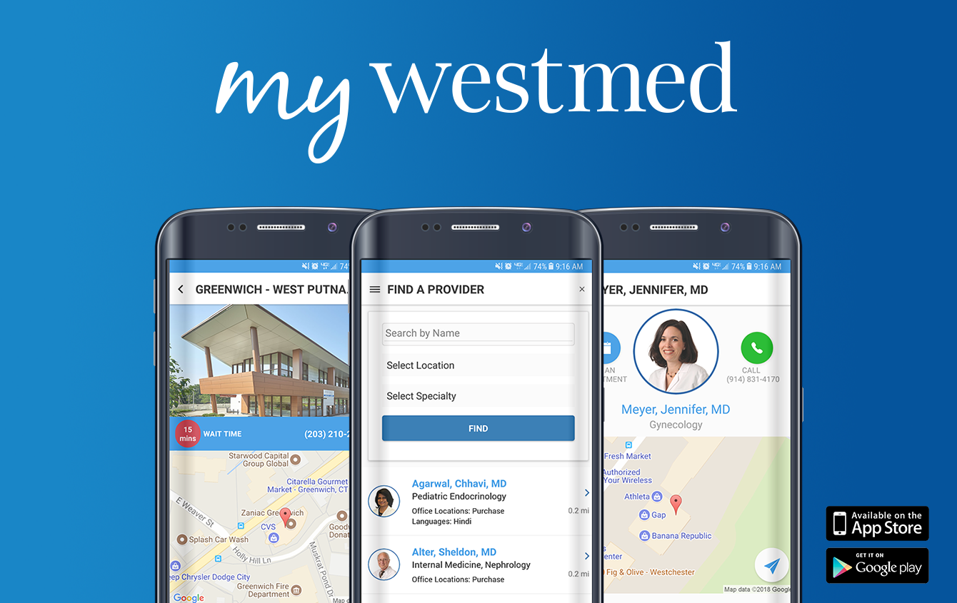 "Download the My Westmed App – Westchester Magazine Blog Describes its ""Instant Access"""