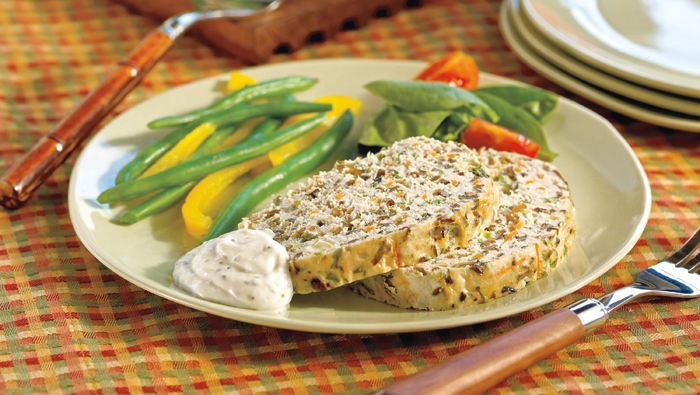 Turkey and Wild Rice Loaf