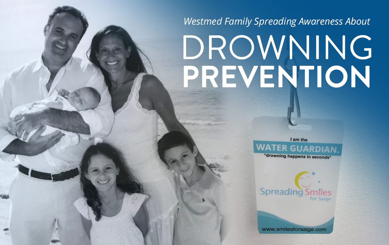 Westmed Family Spreading Awareness about Drowning Prevention