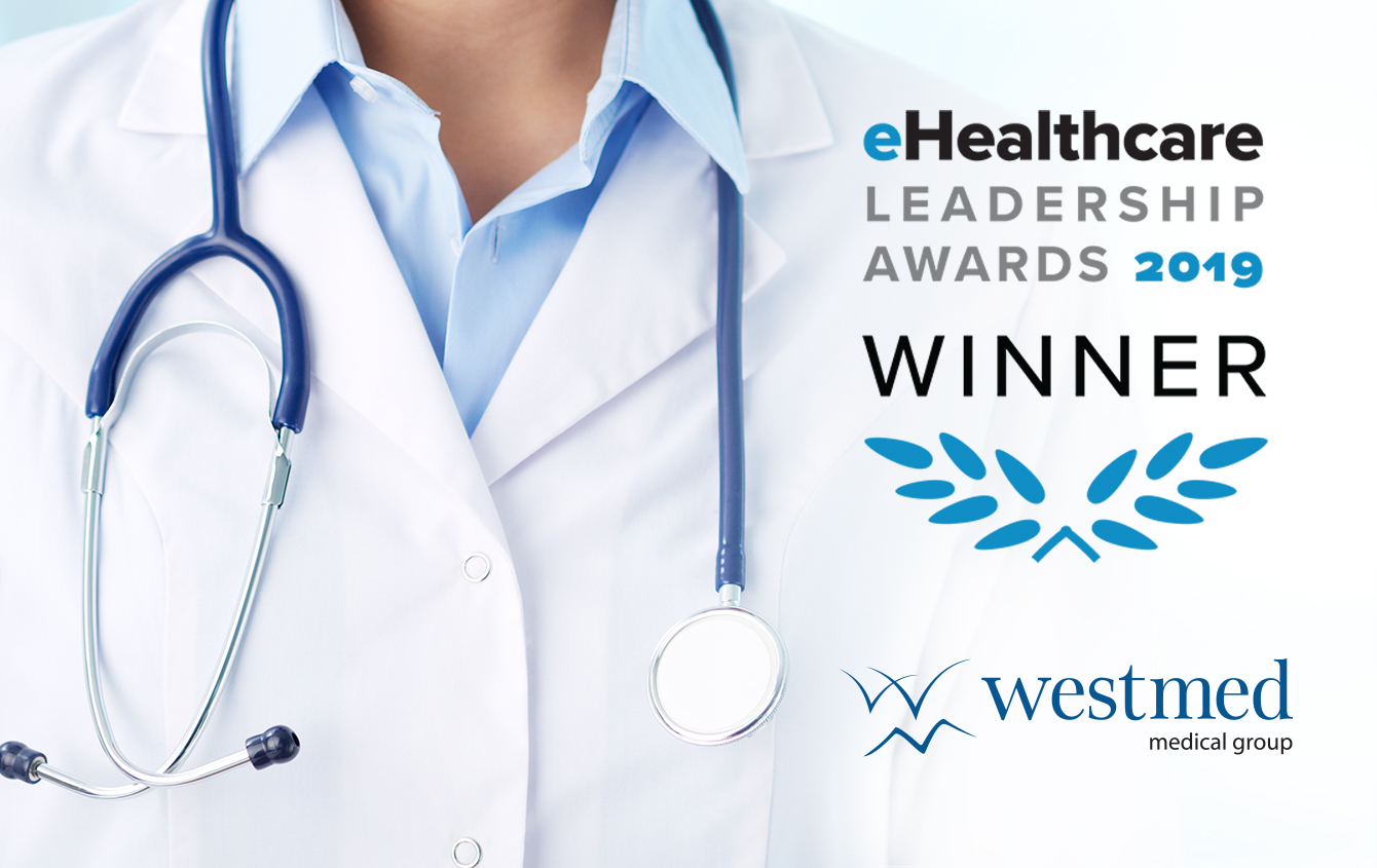 Westmed Wins Again at the eHealthcare Leadership Awards (2019)
