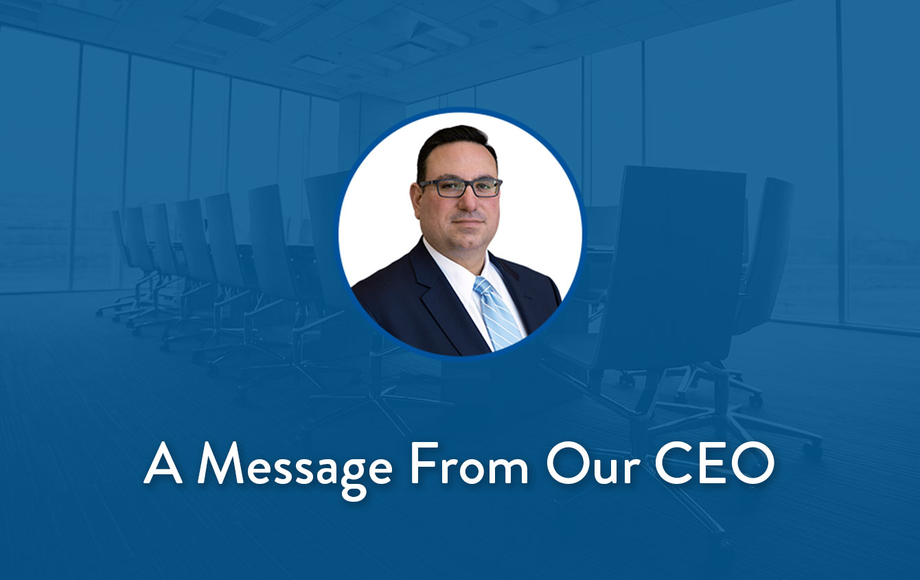 A Message to Our Patients About the Coronavirus from CEO Anthony Viceroy