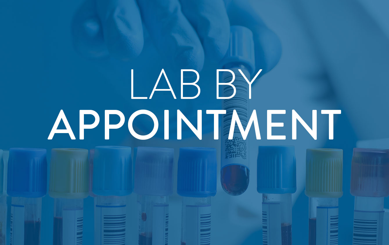 Booking Your Lab Appointment